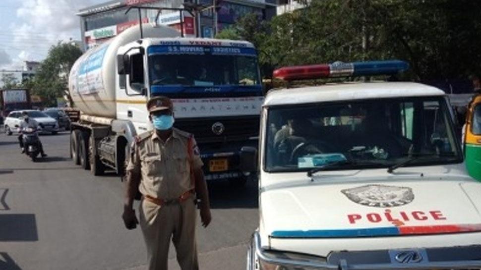 ओडिशा से ऑक्सीजन लेकर निकला टैंकर हुआ लापता, आंध्र पुलिस ने ऐसे बचाई 400 मरीजों की जान