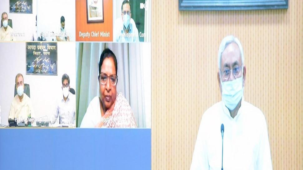 अधिक से अधिक लोगों को लगे टीका, सेंटर पर संक्रमण से बचाव का रखें ख्याल: नीतीश कुमार