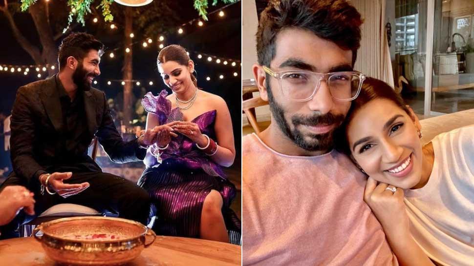 शादी के तुरंत बाद Professional Life में बिजी हो गए थे Jasprit Bumrah-Sanjana Ganesan, महीनों बाद हुई मुलाकात