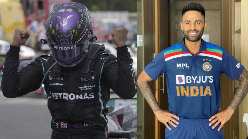 Formula 1: Lewis Hamilton ने जीती Spanish Grand Prix, क्रिकेटर Suryakumar Yadav बोले-'Best of the Best'