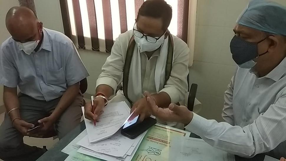 Corona मरीजों के लिए Abhinesh Maharshi आए आगे, 1 करोड़ 84 लाख रुपए करेंगे खर्च
