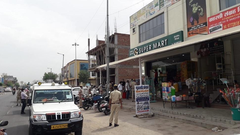 Jaipur : कोरोना गाइडलाइन का उल्लंघन करने पर 10 प्रतिष्ठान सीज, 2 पर भारी जुर्माना