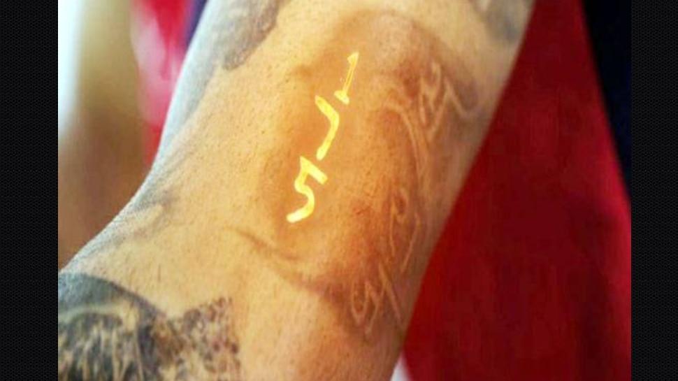 Virat Kohli 175 tattoo