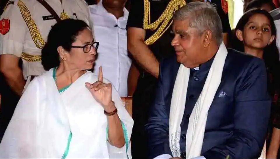 बंगाल CM और गवर्नर धनखड़ फिर आए आमने-सामने, ममता ने लगाया ये बड़ा इल्ज़ाम