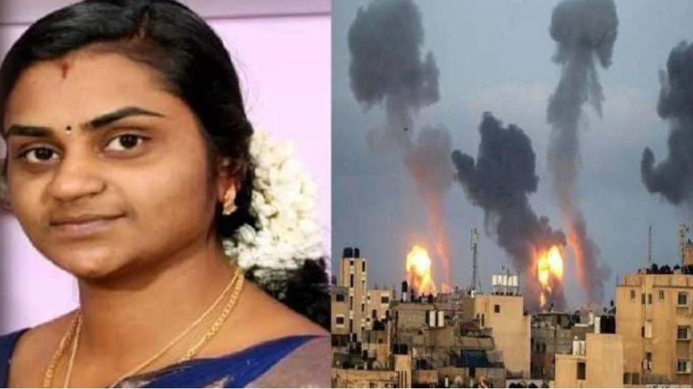 केरल लाया जाएगा फिलीस्तीनी हमले में मारी गई महिला का शव