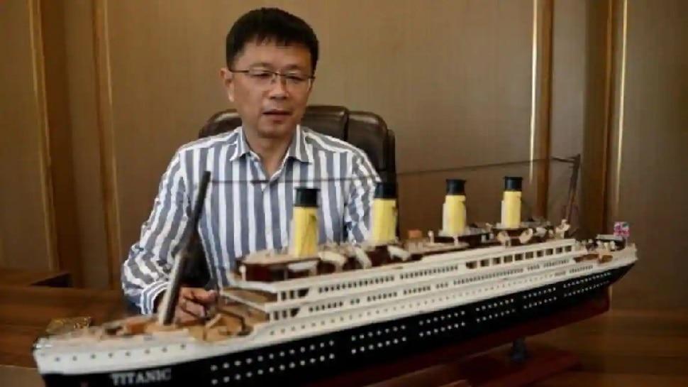 Titanic replica will be 260 meters long