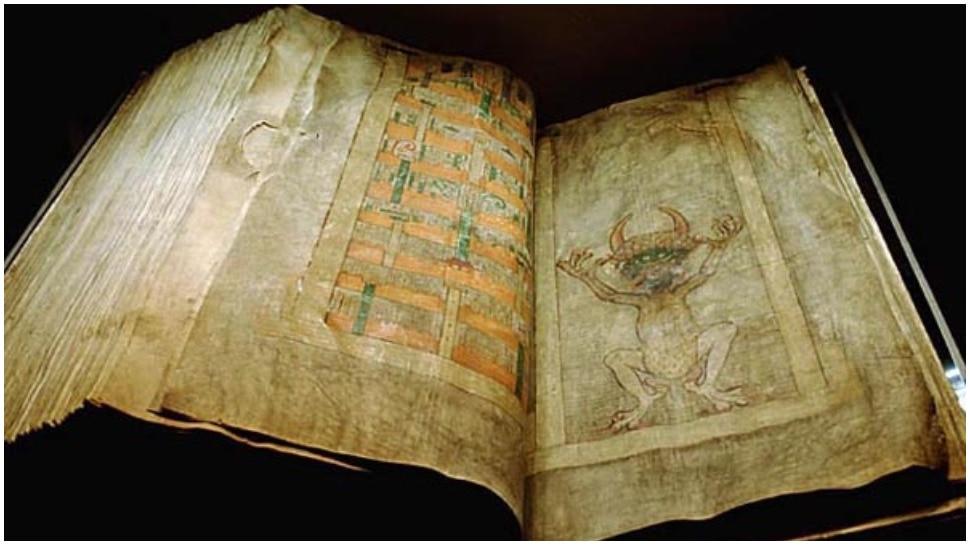 Devil's Bible Was Written In One Night