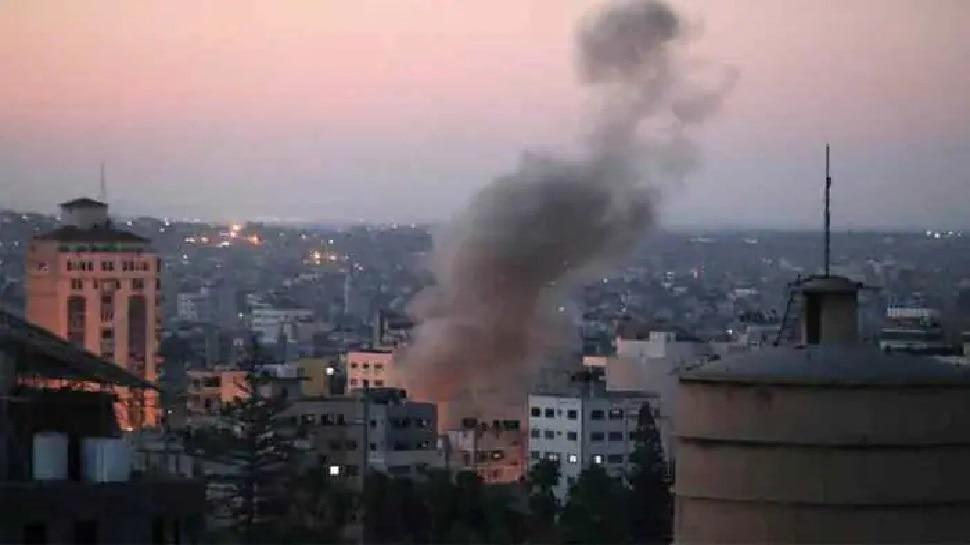 Intensified attacks in gaza