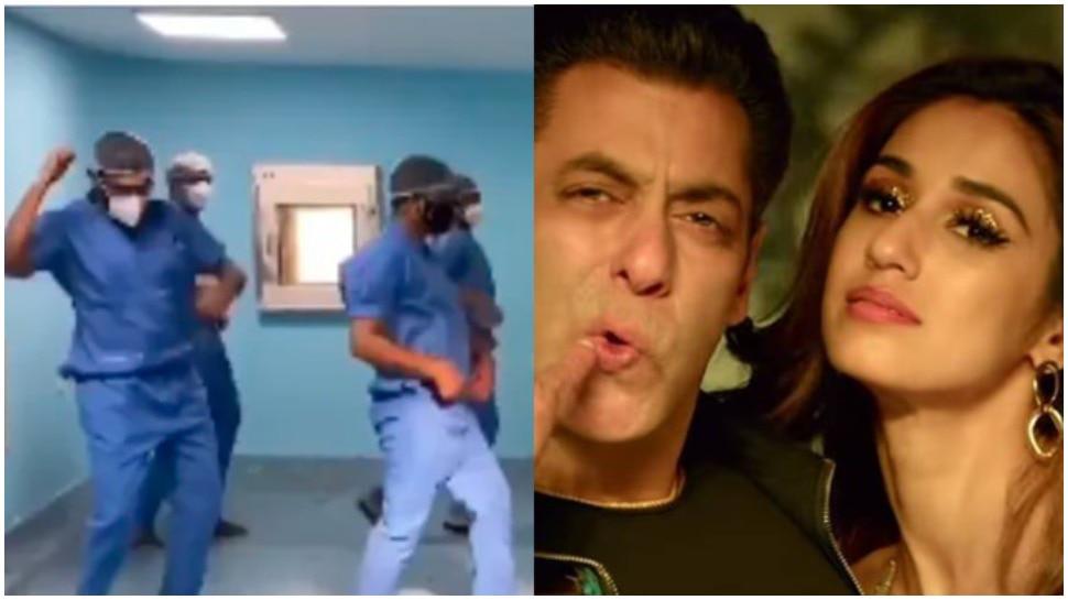 Salman Khan की फिल्म 'Radhe' के गाने पर डॉक्टर्स ने किया डांस, देखने लायक है Disha Patani का रिएक्शन