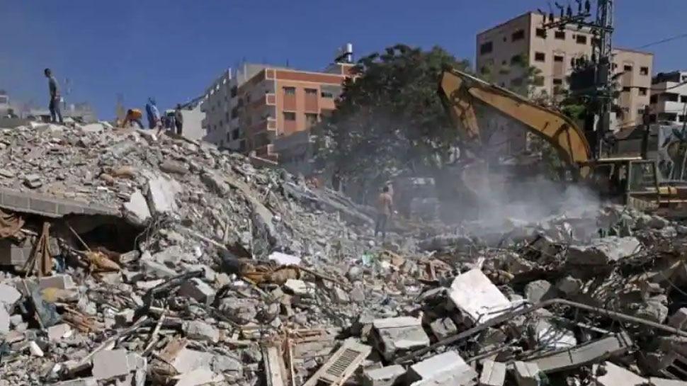 Israel ने फिर की Gaza में एयर स्ट्राइक, 17 लोगों की मौत; मरने वालों का आंकड़ा 174 पर पहुंचा