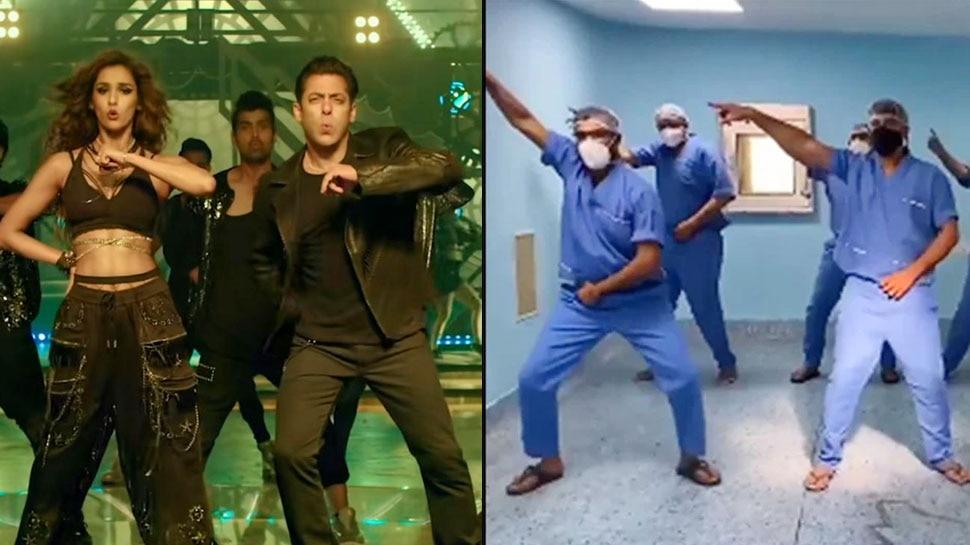 Salman Khan की Radhe के गाने पर मेडिकल स्टाफ का डांस, Seeti Maar पर थिरकती दिखी पूरी टीम