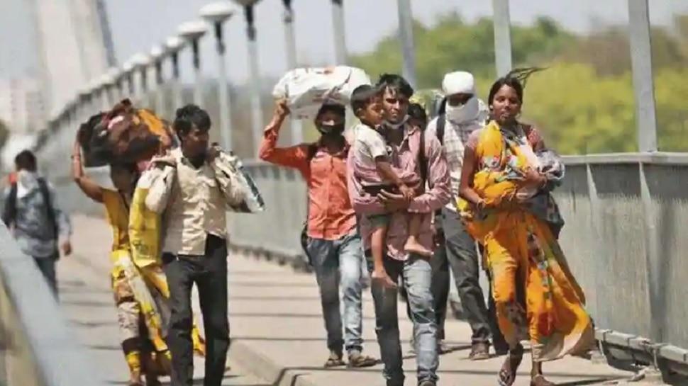 Corona के कारण घर लौटे रहे प्रवासी मजदूर, रोजी-रोटी के लिए हुए 'परेशान'