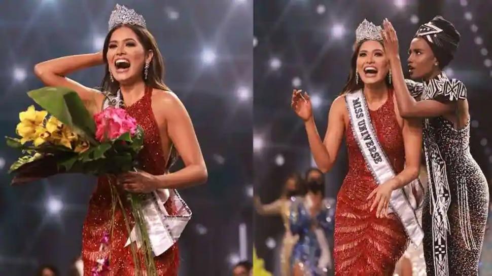 मैक्सिको की एंड्रिया मेजा को मिस यूनिवर्स-2020 चुना गया
