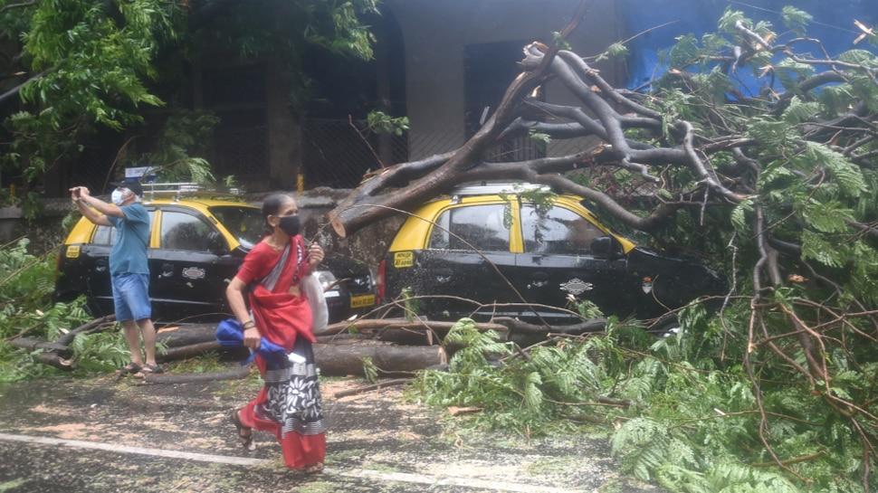 Tauktae: गुजरात के 14 जिलों में चक्रवात का कहर, महाराष्ट्र में तूफान से अब तक सात लोगों की मौत