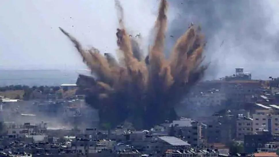 Israel ने फिर किया Gaza पर हमला, 6 मंजिला इमारत धराशायी, इस बार शिक्षा केंद्र बने निशाना