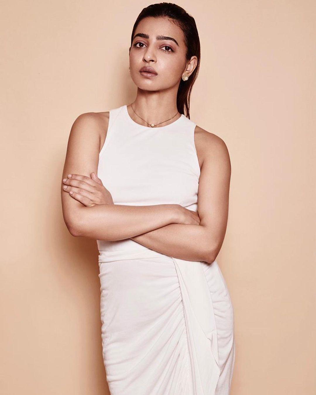 Radhika Apte feeling after photos leaked
