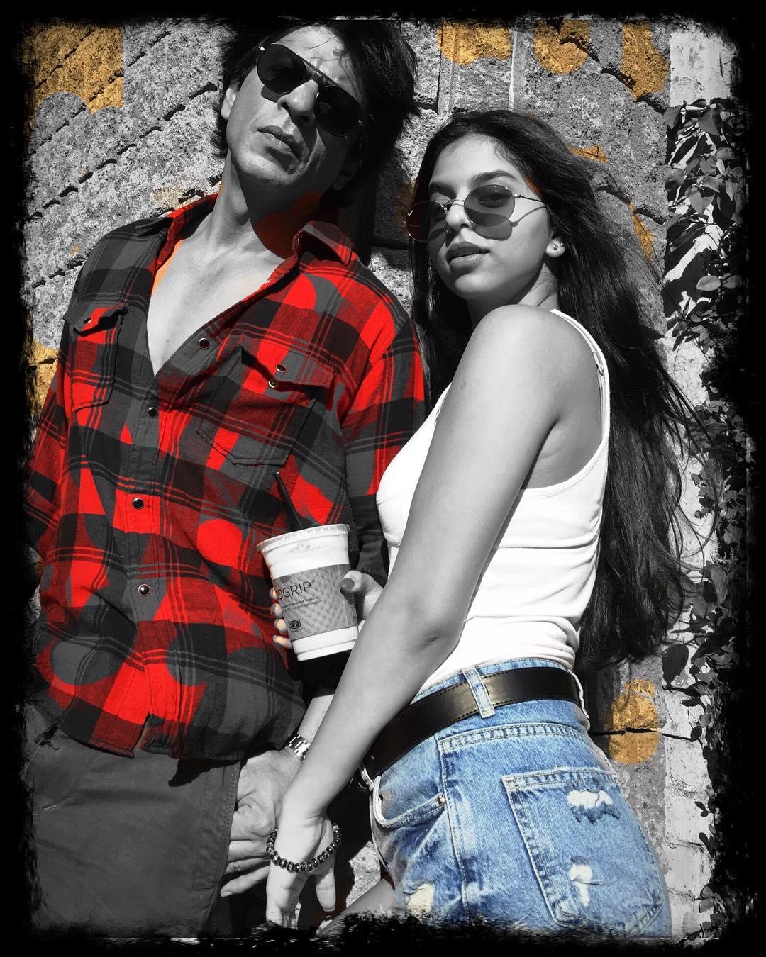 Shahrukh Possesive About Suhana