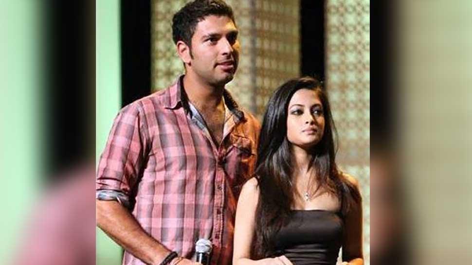 Yuvraj Singh and Riya Sen