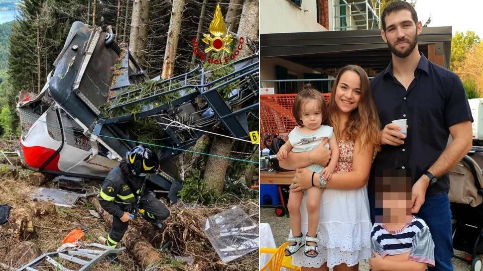 Italy Cable Car Crash: आखिरी वक्त पर पिता ने बच्चे को लगा लिया था गले, इस वजह से बच गई उसकी जान