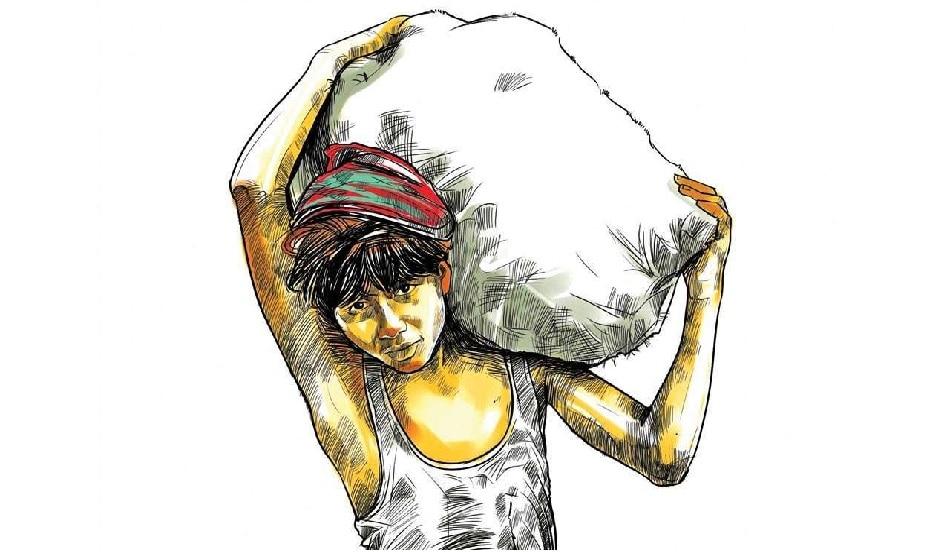 भूख के आगे कोरोना भी पस्त! 500 किलोमीटर का सफर करने को मजबूर मजदूर
