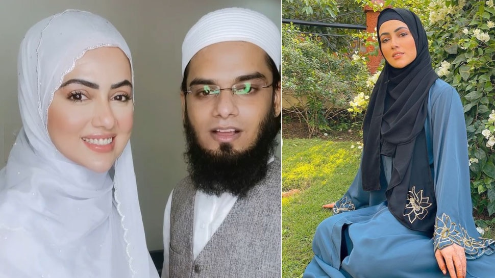 हिजाब में तस्वीर शेयर करने वाली Sana Khan से फैन ने पूछा, पढ़ लिखकर क्या फायदा हुआ?