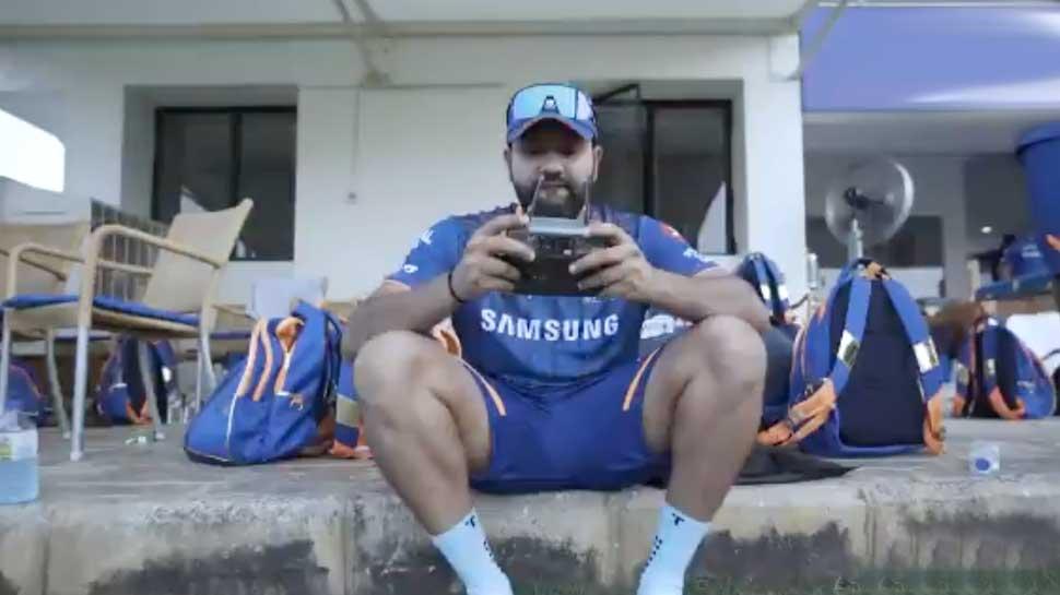 Rohit Sharma बने 'Drone-Acharya', Ishan Kishan करने लगे Screen में ताक झांक