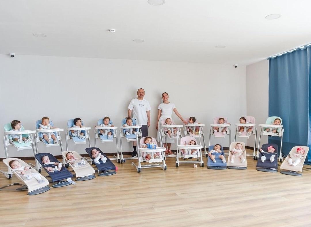 Mum of 21 childrens5