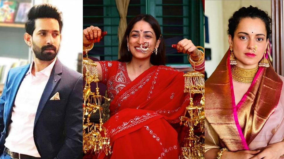 Vikrant Massey को Radhe Maa जैसा लगा Yami Gautam का लुक! Kangana Ranaut बोलीं- मेरी चप्पल लाना जरा