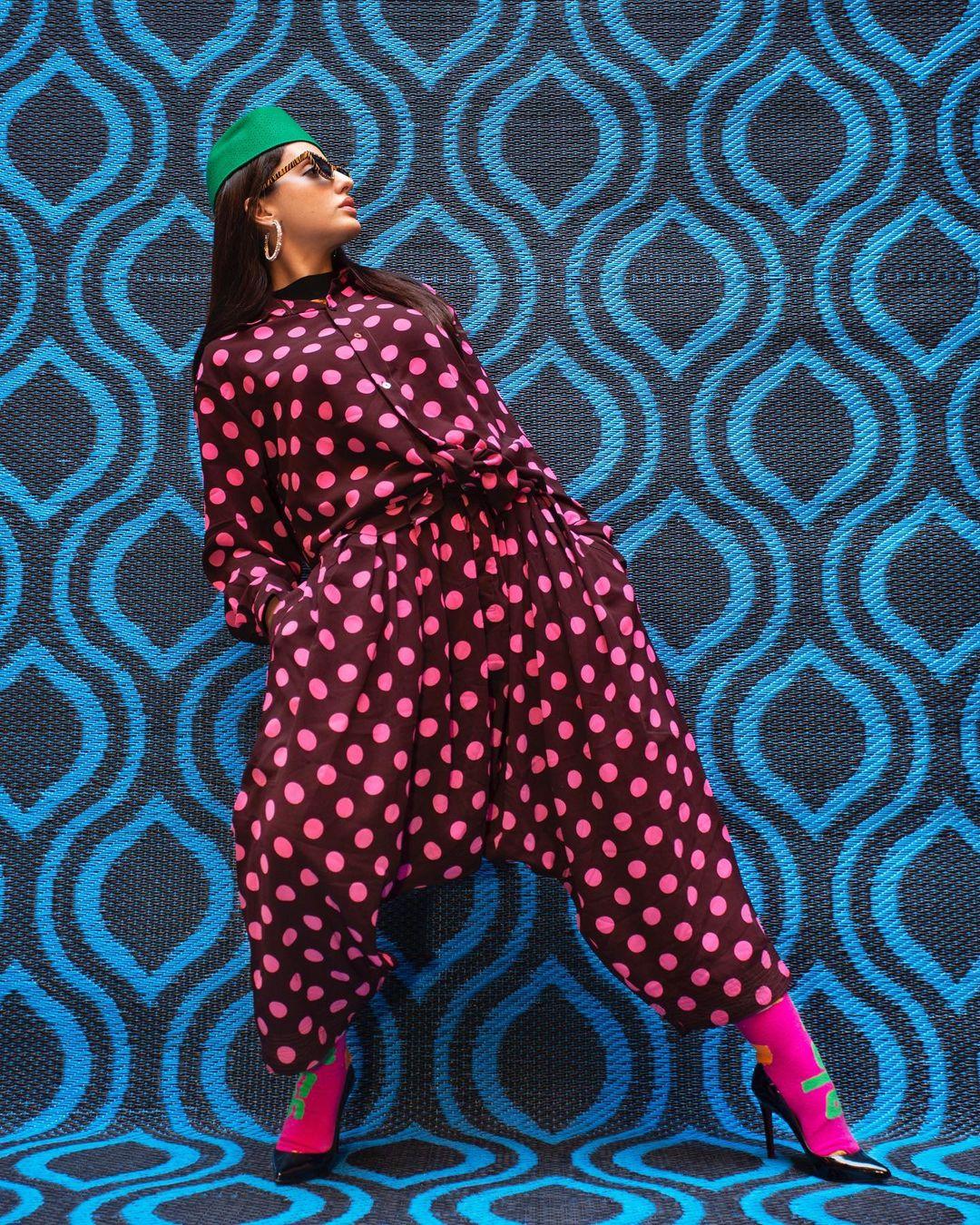 Nora Fatehi theme shoot