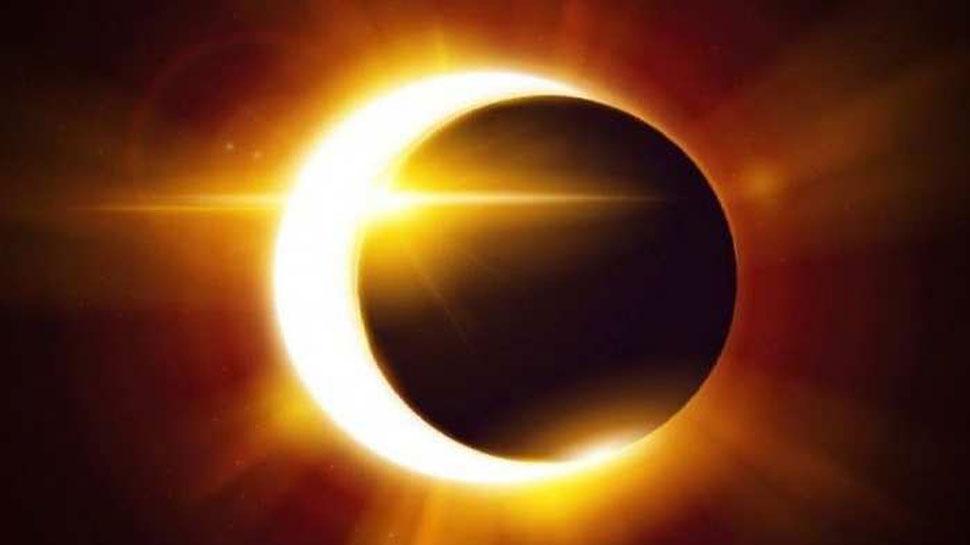 partial solar eclipse in India