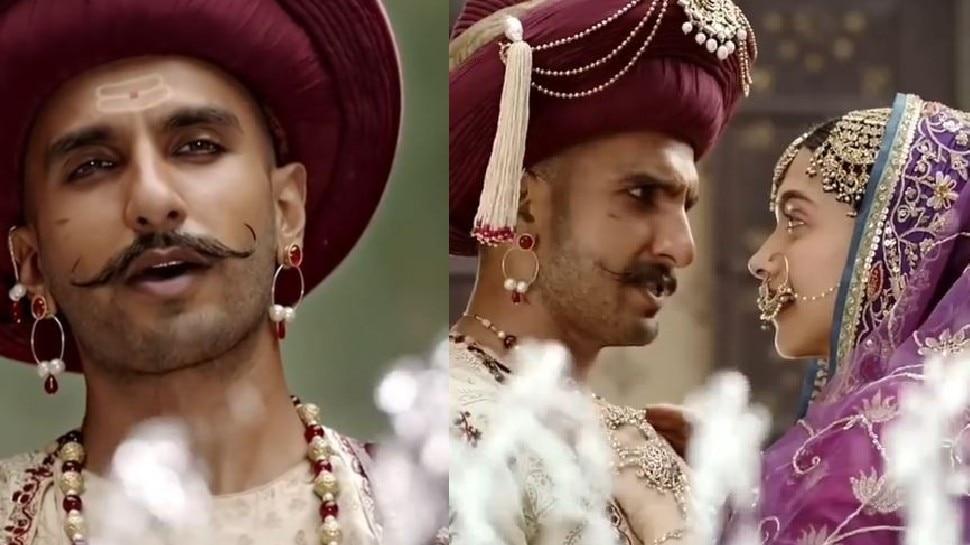 Ranveer Singh saw bajirao ghost during shooting of Bajirao Mastani   Ranveer Singh को Bajirao Mastani की शूटिंग के दौरान दिखता था भूत! हो गई थी सिट्टी-पिट्टी गुम
