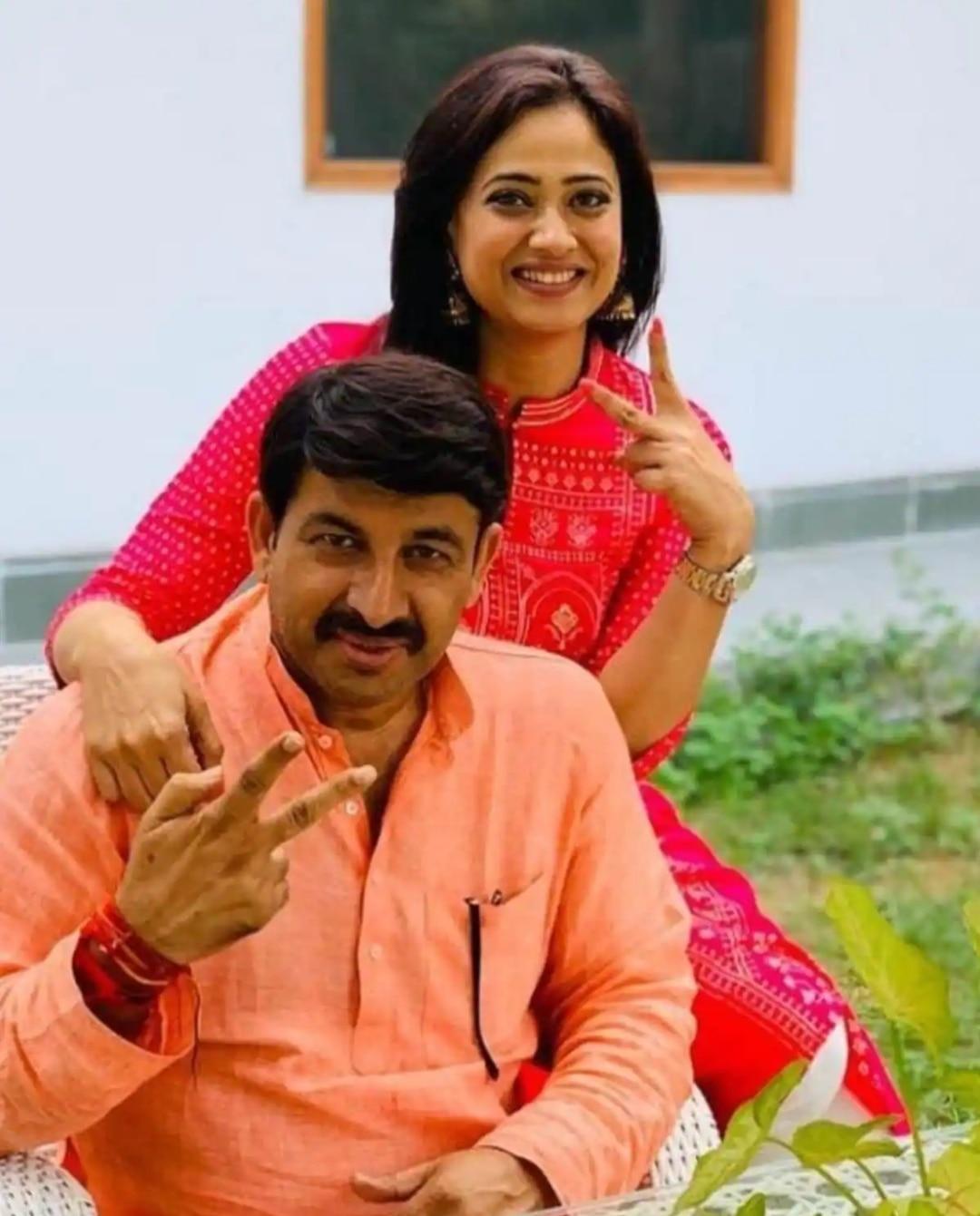 Who is Manoj Tiwaris first wife4