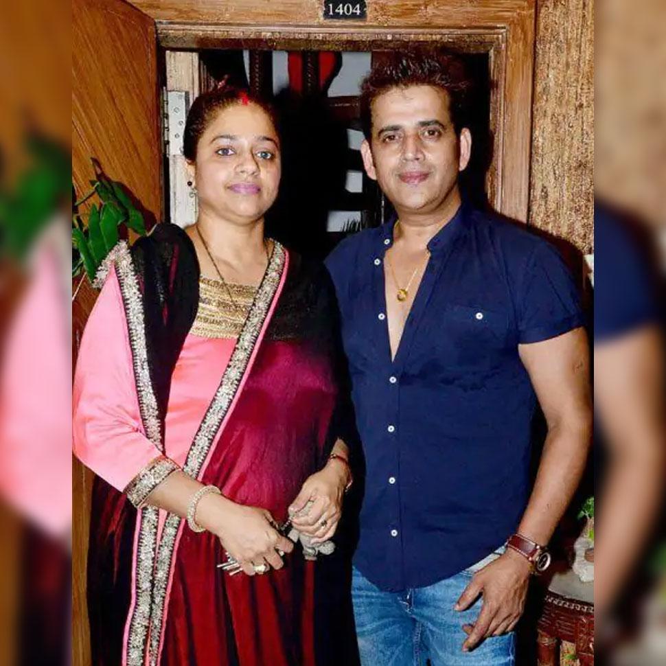 Ravi Kishan And Preeti Kishan