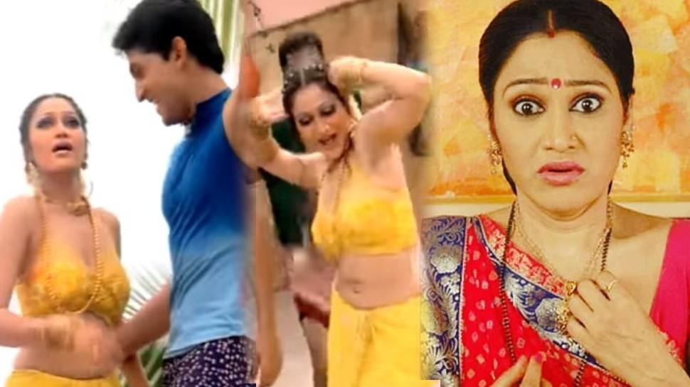 'Taarak Mehta...' फेम Disha Vakani का ये रूप उड़ा देगा आपके होश, बैकलेस चोली में किया धमाकेदार डांस