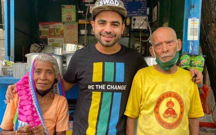 'Baba ka Dhaba' के मालिक से मिले Gaurav Vasan, माफी मांग कर रोने लगे Kanta Prasad
