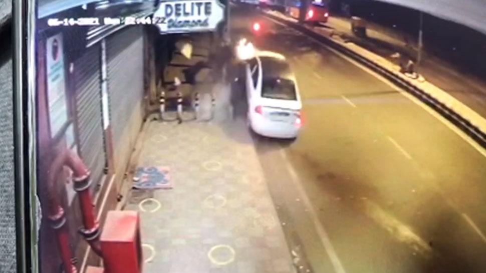 Delhi: तेज रफ्तार कार ने पूरे परिवार को कुचला, 2 की मौत; 3 घायल
