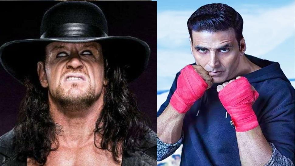 Undertaker के साथ होगी Akshay Kumar की फाइट! WWE ने शेयर किया ये पोस्ट