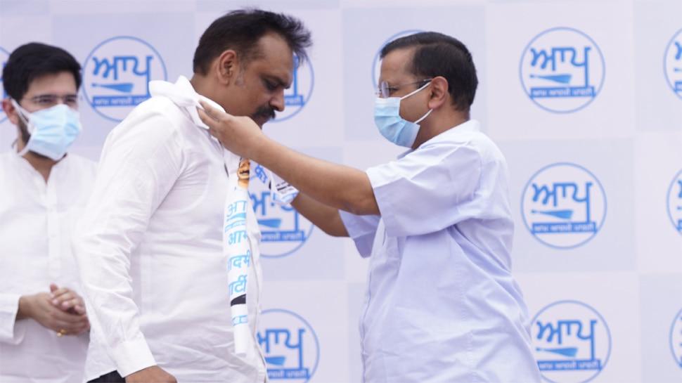 AAP में शामिल हुए पूर्व IPS कुंवर विजय प्रताप सिंह, Arvind Kejriwal बोले- अब पंजाब चाहता है बदलाव