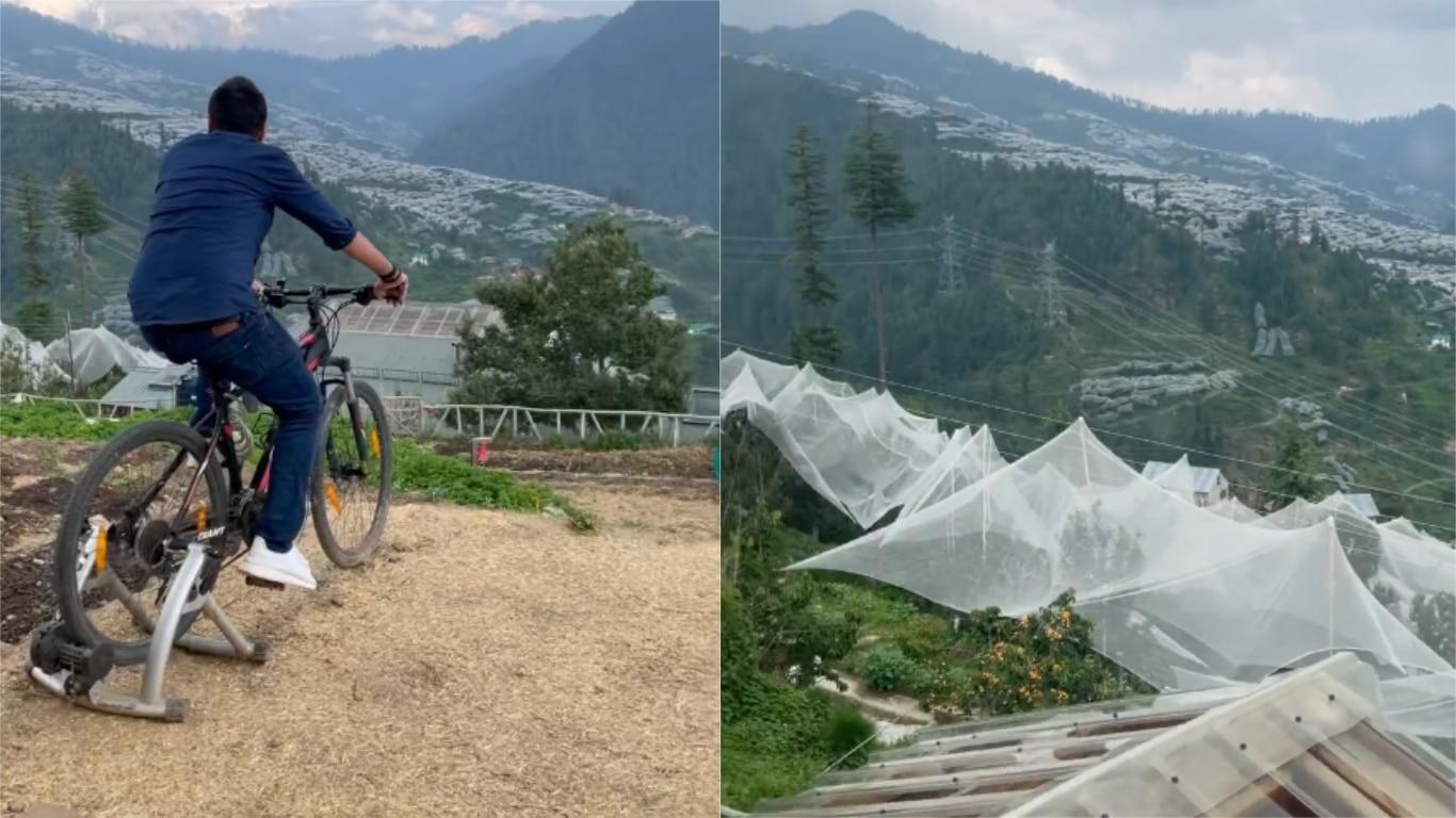 हिमाचल की पहाड़ियों पर इस खूबसूरत कॉटेज में रुके धोनी, साक्षी ने शेयर किया हसीन वादियों का Video