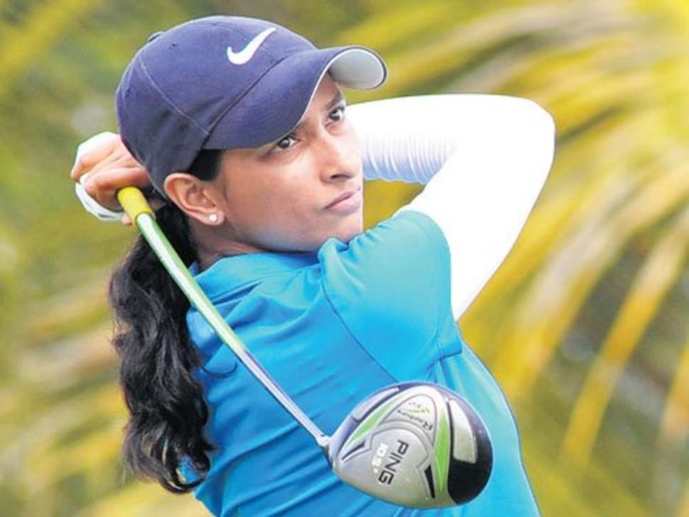 Anisha Padukone is golfer