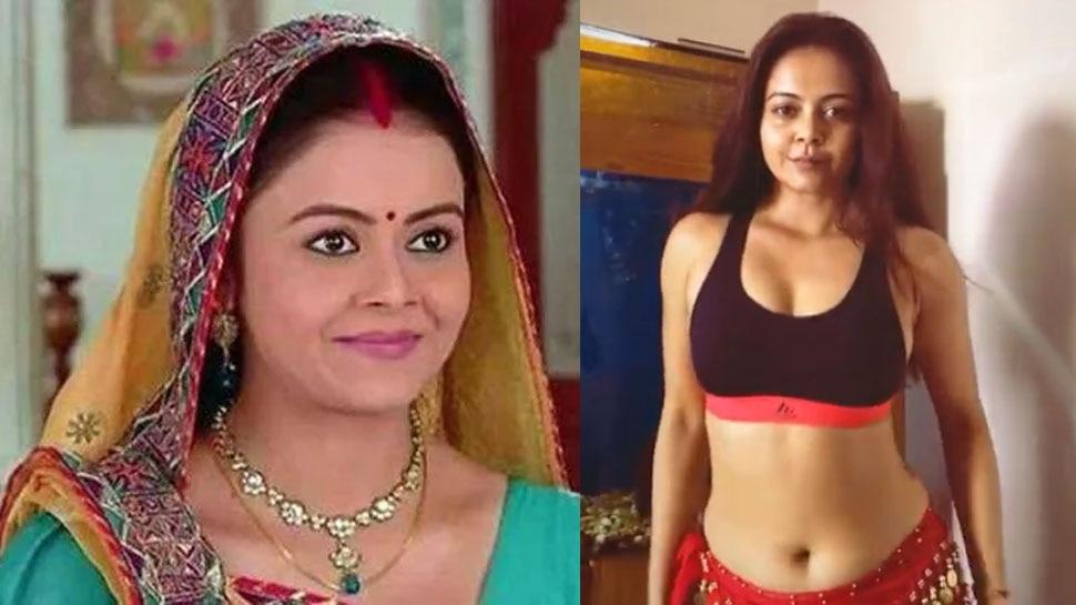 Devoleena Bhattacharjee of Saath Nibhana Saathiya aka Gopi Bahu Killer Dance Moves in Belly Dance |  Saath Nibhana Saathiya: The dances of 'Gopi Bahu' injured the fans, showed Belly Dance in bold style