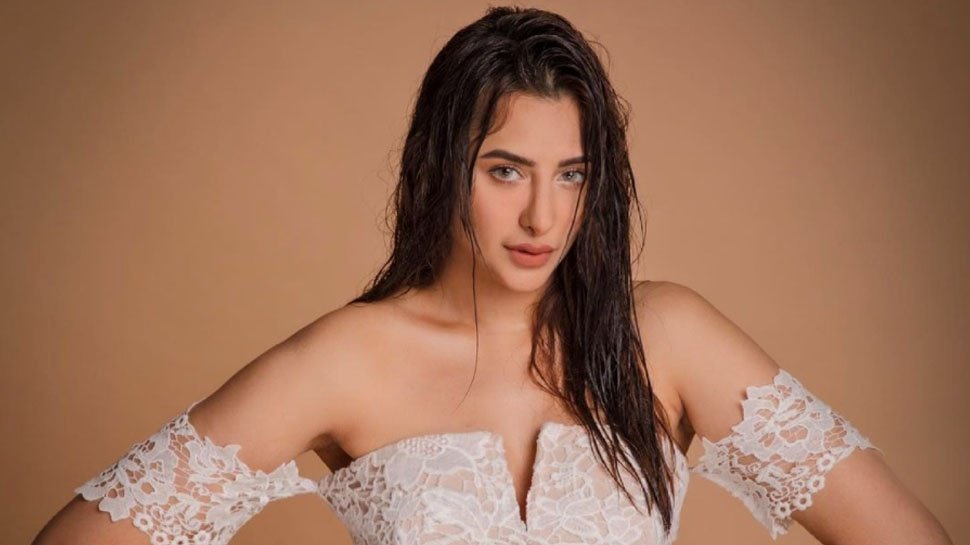 Bigg Boss Season 13 Contestant Mahira Sharma Latest Photoshoot in White Dress Viral    Mahira Sharma's bold style in open sheaves, relationship with Paras Chhabra has been in discussion