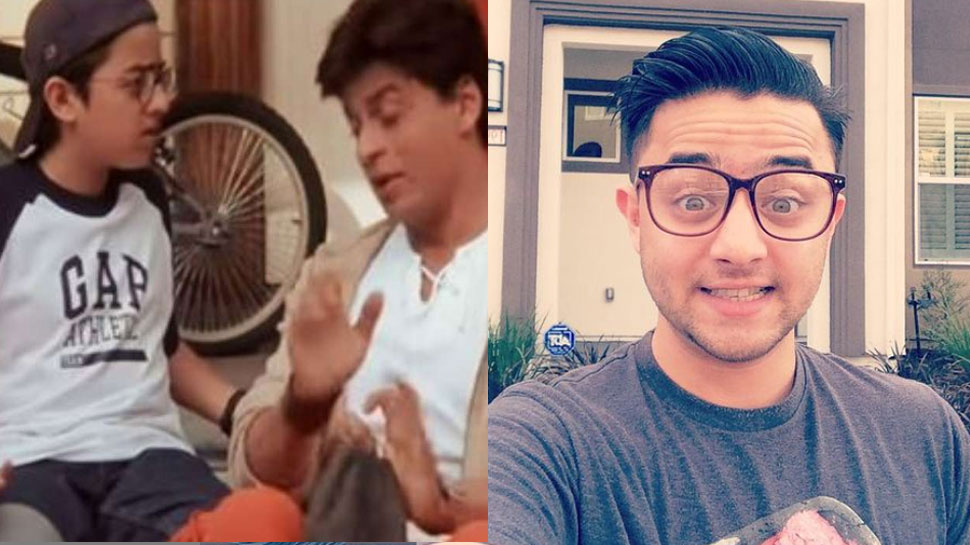 Shah Rukh Khan-Preity Zinta Starr 'Kal Ho Na Ho' Cute child star Athit Naik is now Dashing Hunk |  Remember Shah Rukh Khan's little actor from 'Kal Ho Naa Ho'?  Becoming a handsome hunk