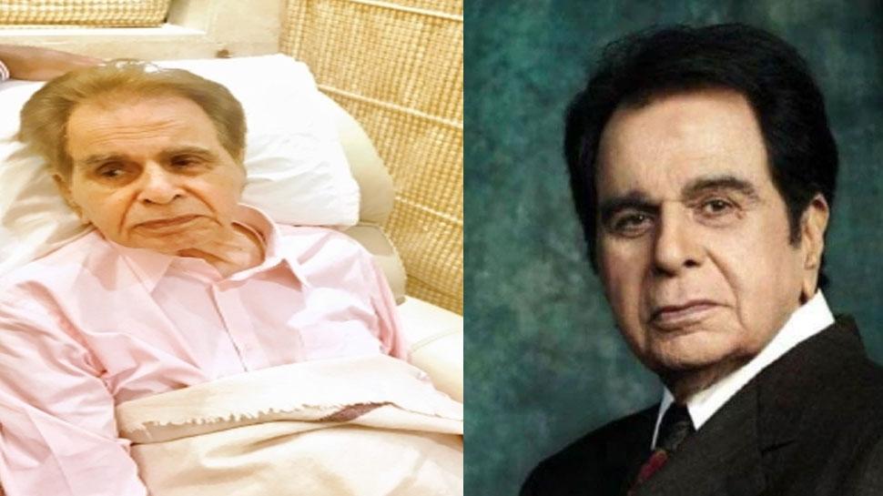 Dilip Kumar Health Update: Hospitalized again after having trouble in breathing |  Dilip Kumar Health Update: Hospitalized again after having trouble in breathing