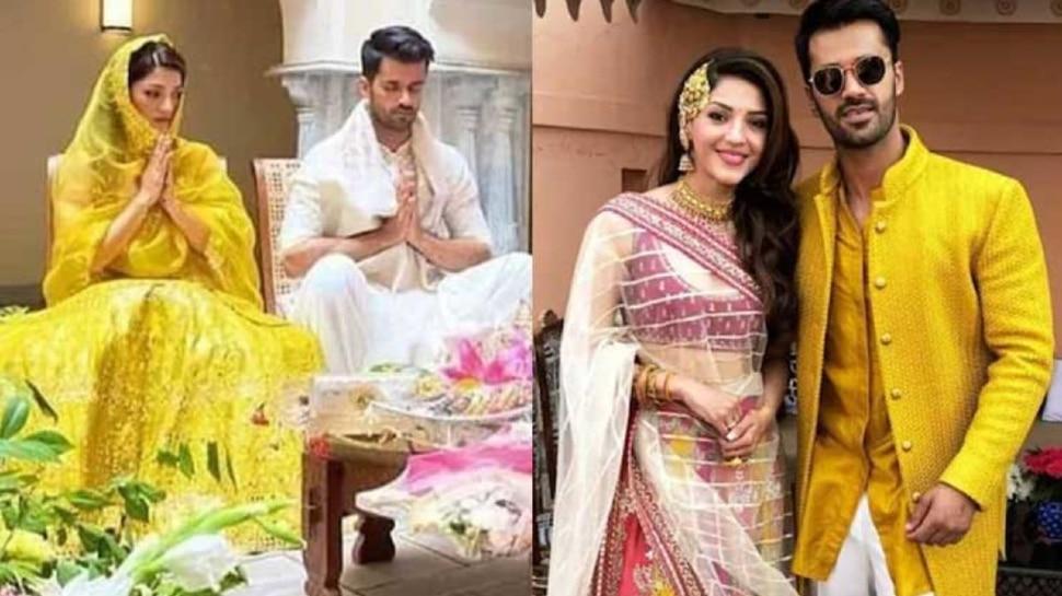 Actress Mehreen Pirzada Break off her engagement with congress leader Bhavya Bishnoi |  Mehreen Pirzada broke up with Congress leader Bhavya Bishnoi, got engaged three months ago