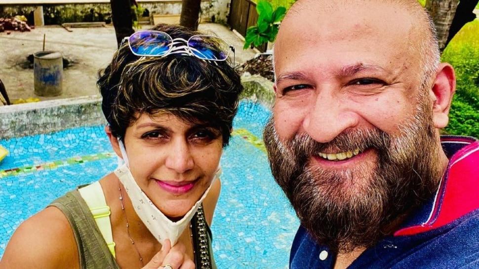 Mandira Bedi changed her instagram dp after her husband died |  Mandira Bedi changed DP after husband's death, could not handle grief