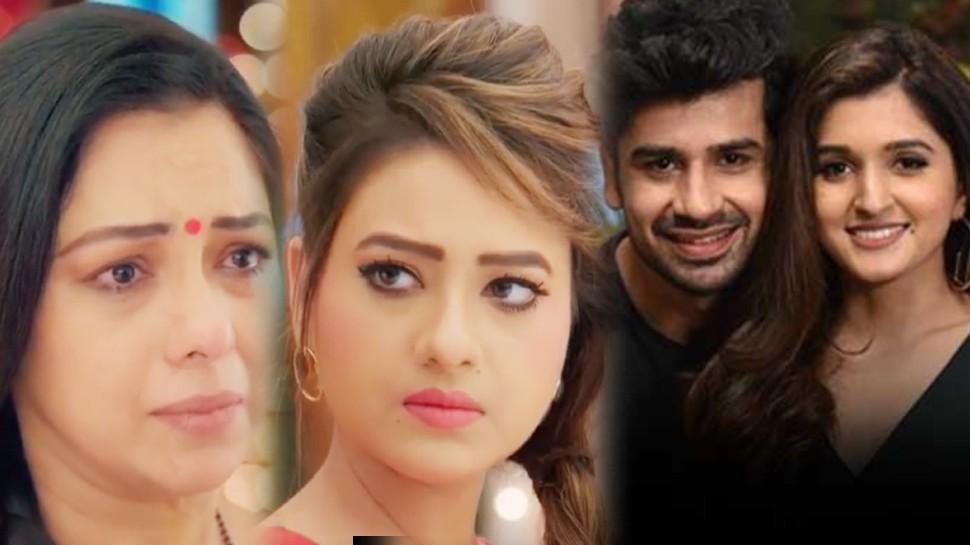 Anupama Spoiler Alert kavya convinces vanraj for baby planning kinjal also plans pregnancy |  Along with Anupama's sister Kavya, daughter-in-law Kinjal will also be pregnant, Vanraj's senses will fly