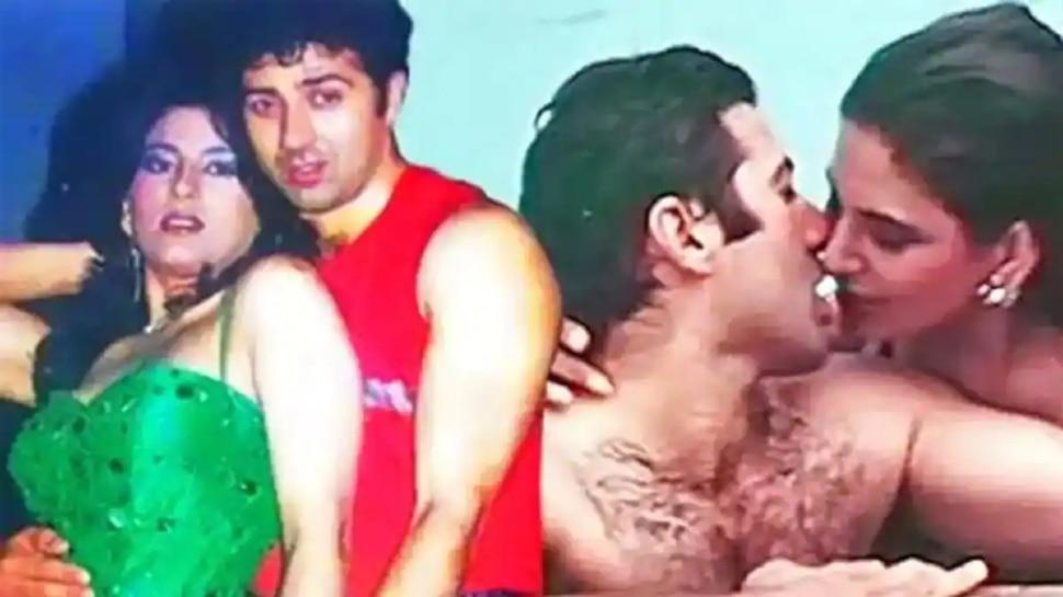 Archana Puran Singh Romantic Scene With Sunny Deol In Film Aag Ka Gola Gone Viral |  Archana Puran Singh did a great kiss to Sunny Deol in the swimming pool, the romantic scene made a lot of headlines