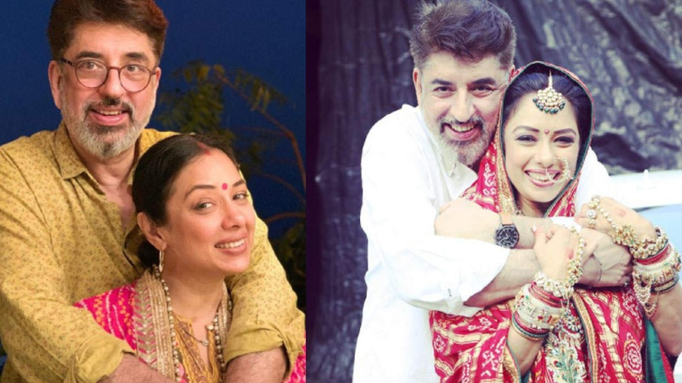 Anupamaa Fame Rupali Ganguly husband Left His Work For Her Career |  Husband quits job to support Anupamaa fame Rupali Ganguly, stays at home and takes care of child