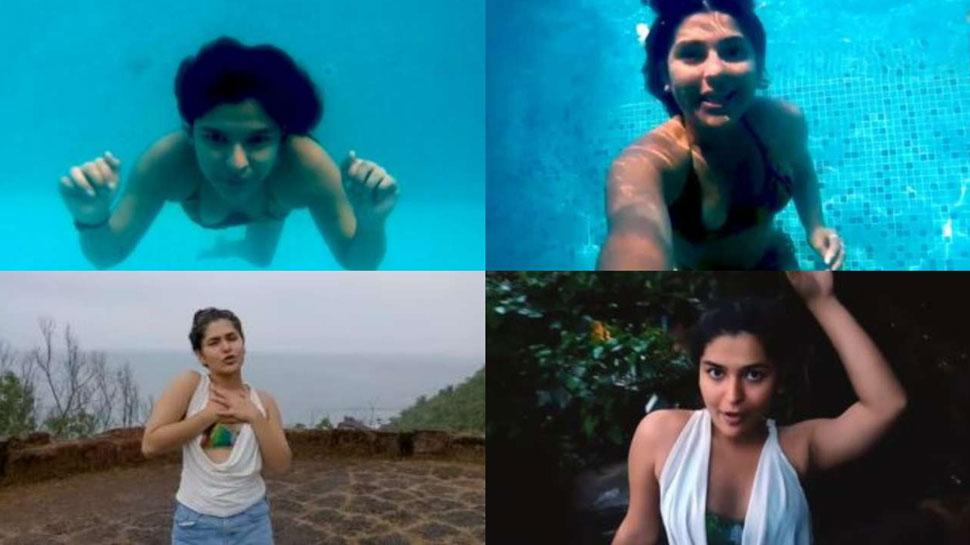 Taarak Mehta Ka Ooltah Chashmah: Nidhi Bhanushali sings and dances underwater in bikini UNSEEN VIDEO    This UNSEEN VIDEO of the old Sonu of 'Taarak Mehta' is creating panic, will be amazed to see the flirtatious dance